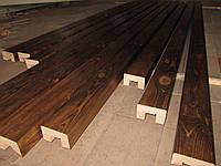 Деревянная балка-короб для декора , фото 1