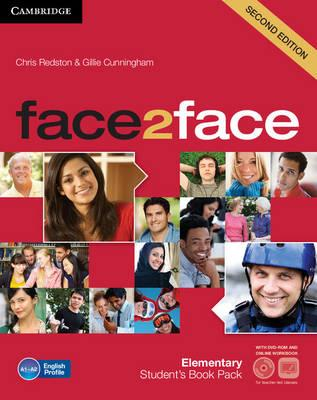 Face2face 2nd Edition Elementary student's Book with DVD-ROM and Online Workbook Pack