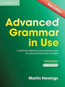 Advanced Grammar in Use 3rd Edition Book with answers and CD-ROM