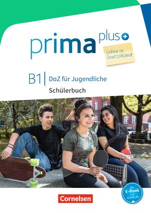 Prima plus B1 Leben in Deutschland Schülerbuch mit MP3-Download