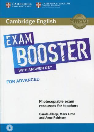 Exam Booster for Advanced with Answer Key with Audio for Tearchers