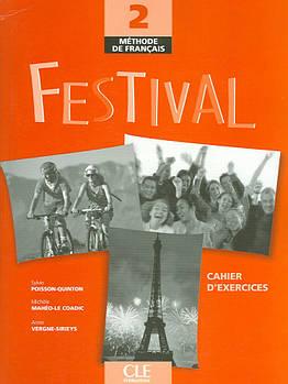 Festival 2 Cahier d`exercices + CD audio