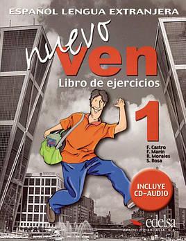Nuevo Ven 1 Libro del ejercicios + CD audio