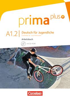Prima plus A1/2 Arbeitsbuch mit CD-ROM