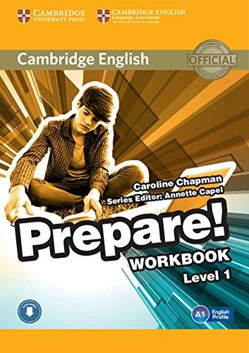 Cambridge English Prepare! Level 1 Workbook with Downloadable Audio