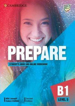 Cambridge English Prepare! 2nd Edition Level 5 Student's Book with Online Workbook