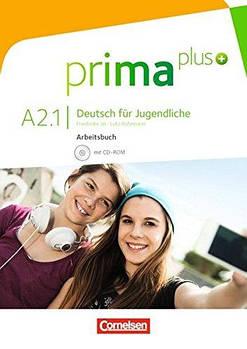 Prima plus A2/1 Arbeitsbuch mit CD-ROM