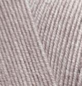 Пряжа для вязания Лана голд файн 207 светло-коричневый меланж