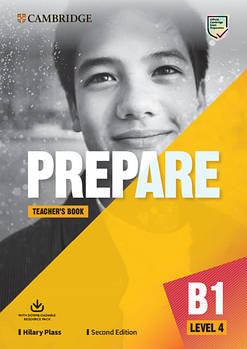 Cambridge English Prepare! 2nd Edition Level 4 Teacher's Book with Downloadable Resource Pack