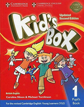 Kid's Box Updated 2nd Edition 1 Pupil's Book