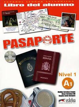 Pasaporte 1 (A1) Libro del alumno + CD audio