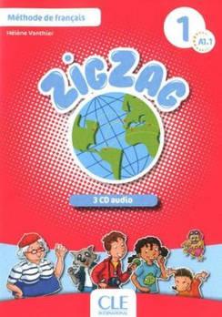 ZigZag 1 CD audio(3) Collectif