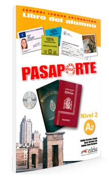 Pasaporte 2 (A2) Libro del alumno + CD audio