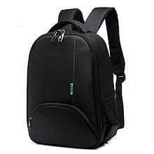 Рюкзак для камеры T-C6005 черный с зеленым