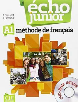 Echo Junior  A1 Livre de L`eleve + portfolio + DVD-ROM
