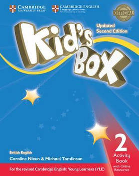 Kid's Box Updated 2nd Edition 2 Activity Book with Online Resources