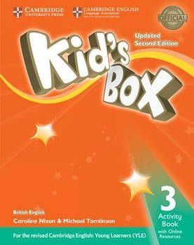 Kid's Box Updated 2nd Edition 3 Activity Book with Online Resources