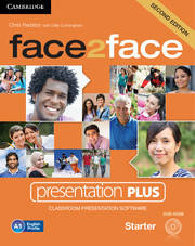 Face2face 2nd Edition Starter Presentation Plus DVD-ROM