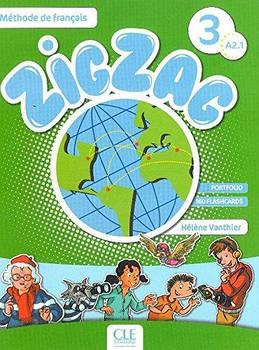 ZigZag 3 Livre de leleve + CD audio