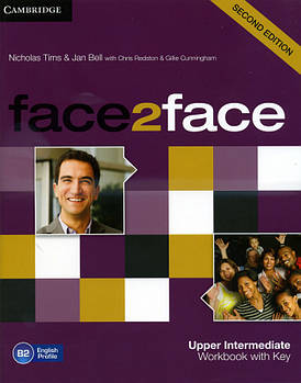 Face2face 2nd Edition Upper Intermediate Workbook with Key