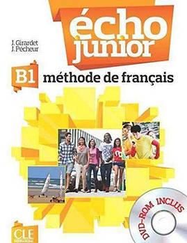 Echo Junior  B1 Livre de L`eleve + portfolio + DVD-ROM