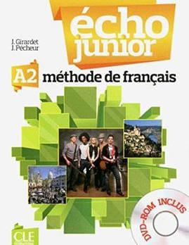 Echo Junior  A2 Livre de L`eleve + portfolio + DVD-ROM