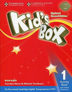 Kid's Box Updated 2nd Edition 1 Activity Book with Online Resources