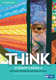 Think 4 Student's Book with Online Workbook and Online Practice