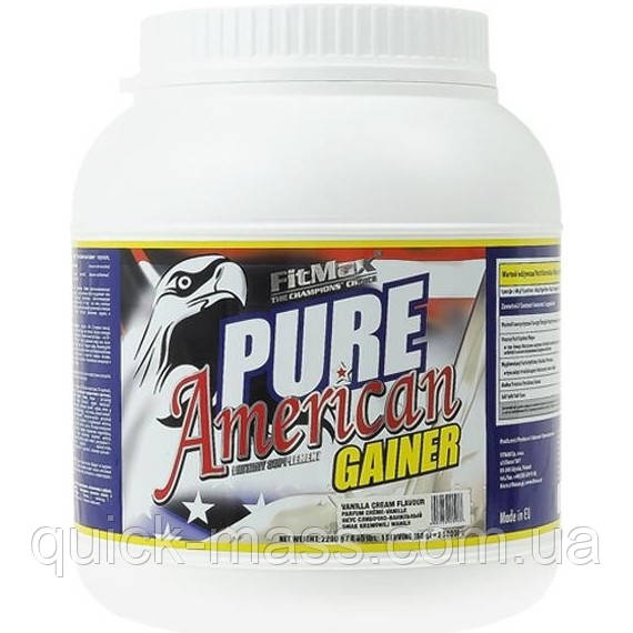 Гейнер FitMax Pure American Gainer 2200 g