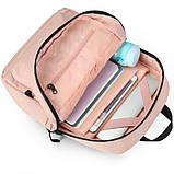 Рюкзак городской Tigernu T-B3825 розовый, фото 4