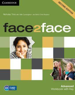 Face2face 2nd Edition Advanced Workbook with Key