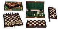 Магнитные шахматы из дерева