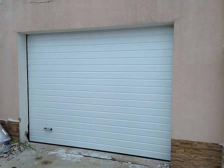 Ворота гаражные(секционные) 2500*2250 Алютех серии TREND., фото 2