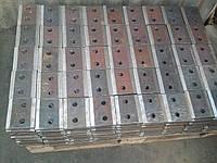 Планки прижимные П1, П2 ГОСТ 24741 крепления крановых рельс