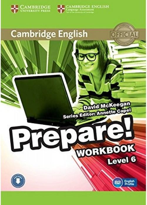 Cambridge English Prepare! Level 6 Workbook with Downloadable Audio