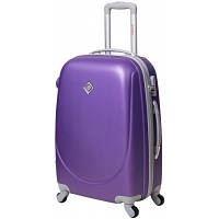 Чемодан Bonro Smile на колесах небольшой, фиолетовый