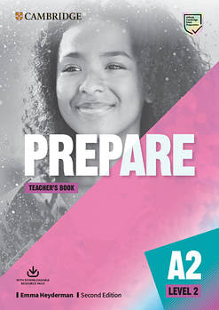 Cambridge English Prepare! 2nd Edition Level 2 Teacher's Book with Downloadable Resource Pack