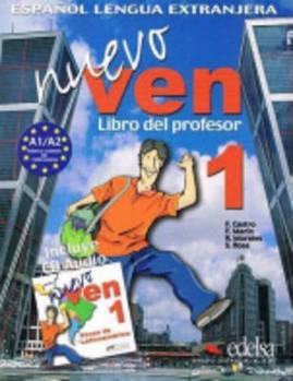 Nuevo Ven 1 Libro del profesor + CD audio