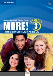 More! Second edition 3 Testbuilder CD-ROM/Audio CD