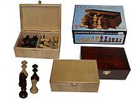 Деревянные фигуры для игры в шахматы Staunton