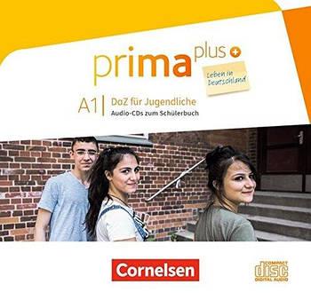 Prima plus A1 Leben in Deutschland Audio-CDs zum Schülerbuch