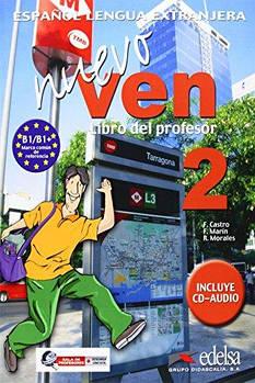 Nuevo Ven 2 Libro del profesor + CD audio GRATUITA