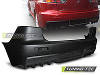 Бампер задний в стиле Mitsubishi Lancer X EVO