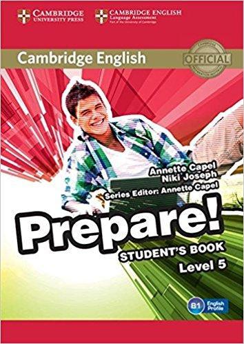 Cambridge English Prepare! Level 5 Student's Book including Companion for Ukraine