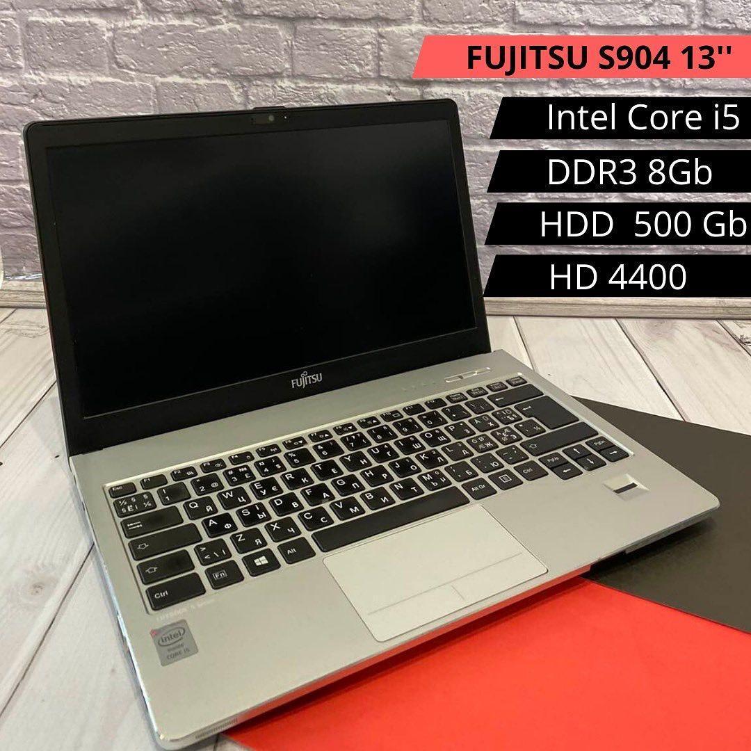 Ноутбук FUJITSU S904 13 (I5-4200U / DDR3 8GB / HDD 500 GB / HD 4000)