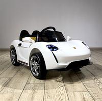 Детский электромобиль Porsche Sport mini 7188 белый с EVA колесами