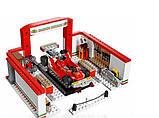 "Конструктор ""Гараж Ferrari"" (Аналог Lego Speed Champions 75889) Senco 915+ деталей, фото 3"
