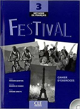 Festival 3 Cahier d`exercices + CD audio