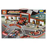 "Конструктор ""Гараж Ferrari"" (Аналог Lego Speed Champions 75889) Senco 915+ деталей, фото 4"