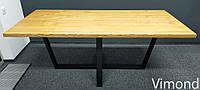 Стіл переговорний Loft V-85, ЯСЕН, 2200*1000. Меблі лофт.